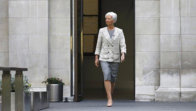 Директор-распорядитель Международного валютного фонда (МВФ) Кристин Лагард. Архивное фото