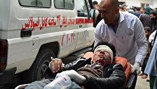 Взрыв в Афганистане. Архивное фото