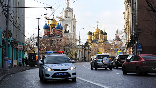 Вид на улицу Варварку в Москве. Архивное фото