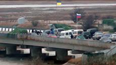 Стоп-кадр с видео задержания российских военных сотрудниками СБУ в Крыму