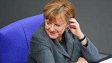 Канцлер Германии Ангела Меркель в Берлине. Архивное фото