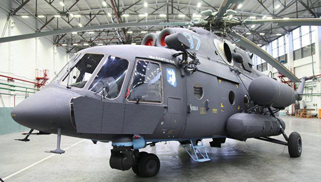 Морская авиация Российской Федерации получила самый новый арктический вертолет Ми-8АМТШ-ВА