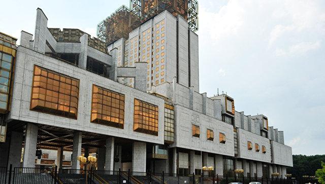 Здание Президиума Российской академии наук на Ленинском проспекте. Архивное фото