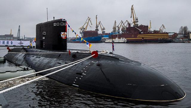ВоВладивостоке нахимовцы встретились светеранами-подводниками Тихоокеанского флота