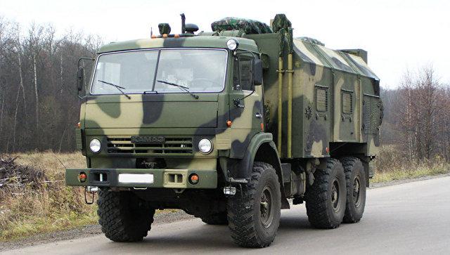 Командно-штабная машина Р-149АКШ-1