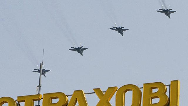 Самолеты ВВС Украины. Архивное фото