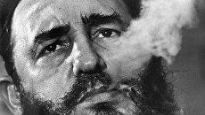 Премьер-министр Кубы Фидель Кастро. Архивное фото