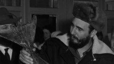 Визит Фиделя Кастро в СССР. Архивное фото