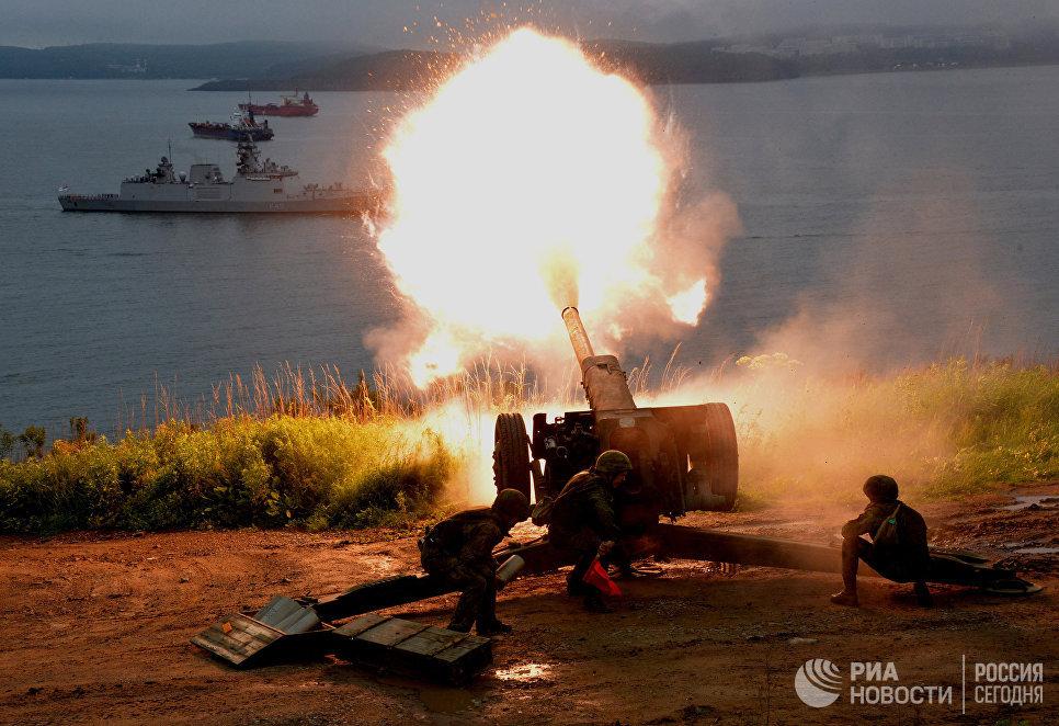 ВДагестане проходят тактические учения морских пехотинцев