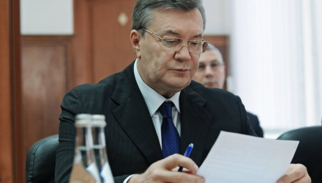 Защита Януковича попросила расследовать назначение судей по его делу