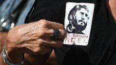 Прощание с Фиделем Кастро в Гаване. Архивное фото
