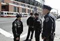 Сотрудники полиции на одной из улиц Сан-Франциско, США