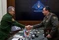 Министры обороны РФ и Таджикистана подписали план сотрудничества на 2017 год