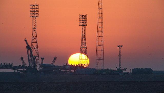 Подготовка ТГК Прогресс МС-04 и ракеты-носителя Союз-У к пуску