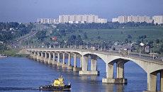 Мост через Волгу. Кострома. Архивное фото