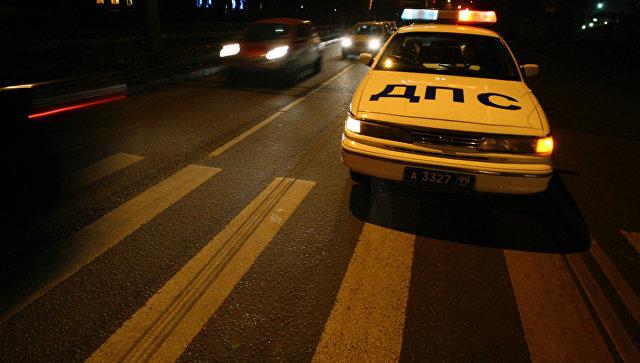 В российской столице шофёр избил гражданина Италии запереход внеположенном месте