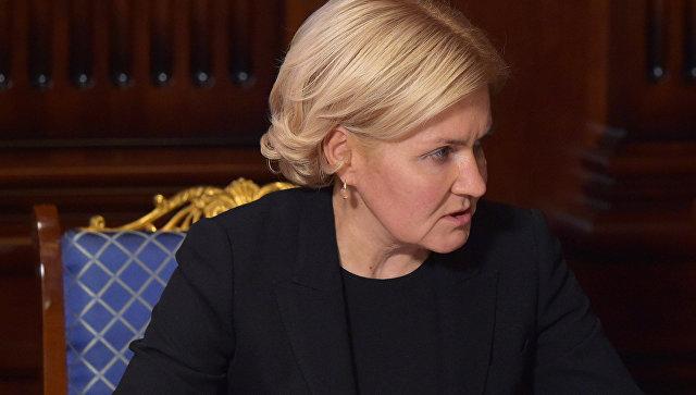Уполномоченный МИД Захарова выразила сожаления после крушения Ту-154
