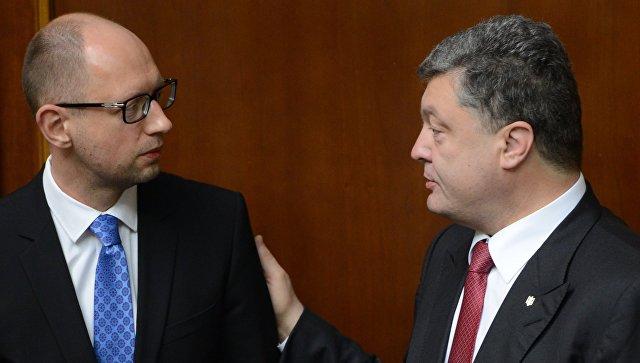 Яценюк предложил созвать у Порошенко совещание из-за хакерской атаки