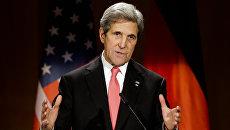Госсекретарь США Джон Керри в Берлине. Архивное фото