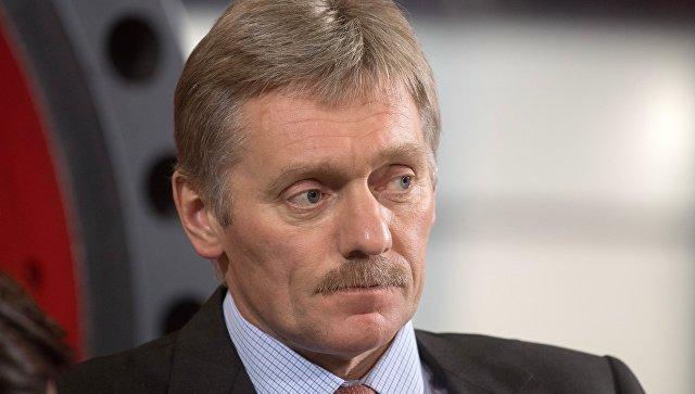 Песков: Киев сам отказывается от Донбасса, устраивая блокаду региона