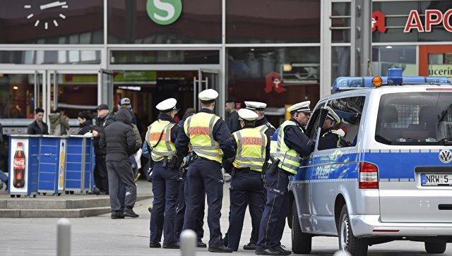 Полиция в городе Кёльн. Архивное фото
