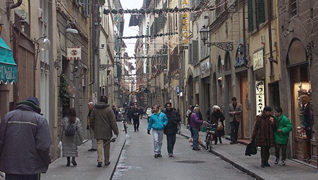 На улице Флоренции. Архивное фото