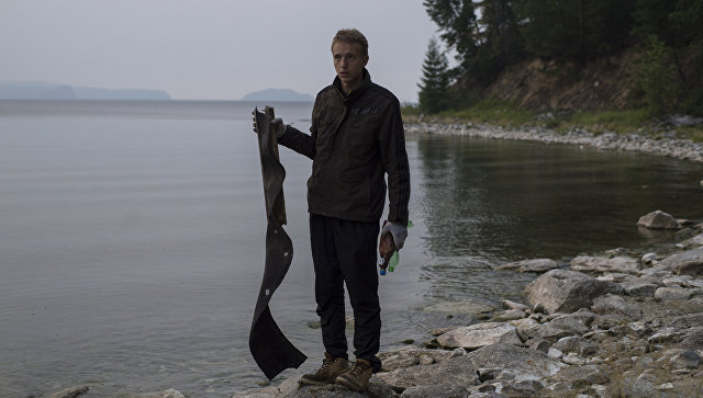 Работа волонтеров Байкальской береговой службы. Архивное фото