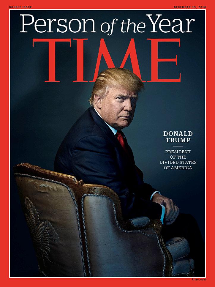 Трамп стал Человеком года по версии журнала Time