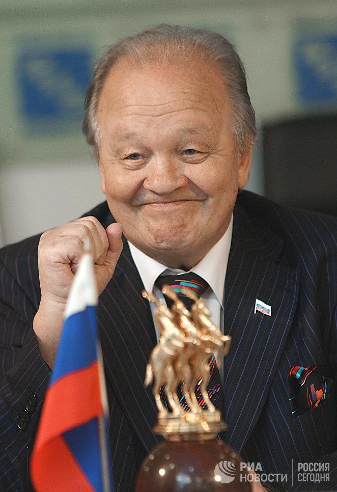 Генеральный директор Росгосцирка, народный артист СССР и России Мстислав Запашный