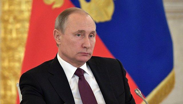 Президент РФ В. Путин поовел заседание Совета по развитию гражданского общества и правам человека
