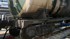 Железнодорожная цистерна. Архивное фото