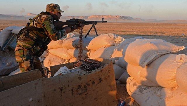 Боевые действия сирийской армии. Архивное фото