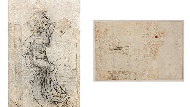 Француз случайно отыскал рисунок даВинчи за15млневро