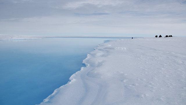 ВАнтарктиде отыскали немалый ледниковый провал, который доходит рискованных масштабов