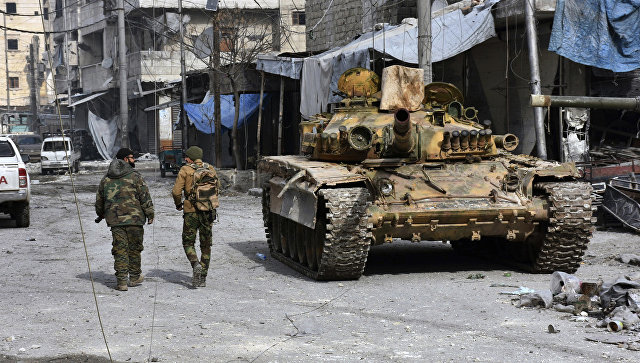 ВАлеппо отыскали склад террористов сболгарским оружием