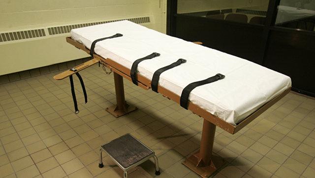 Комната, где приводится в исполнение смертный приговор, США. Архивное фото