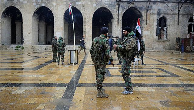 Сирийские власти сообщили озавершающей стадии военной операции вАлеппо