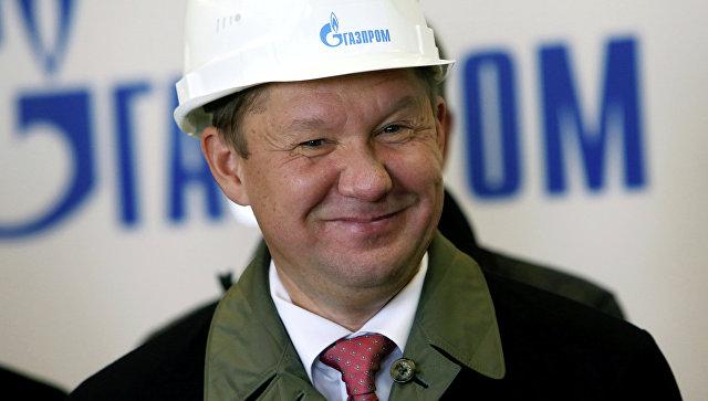 Миллер назвал срок окончания строительства газопровода «Северный поток-2»