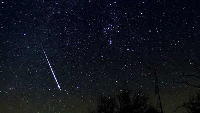 Метеоритный поток. Архивное фото