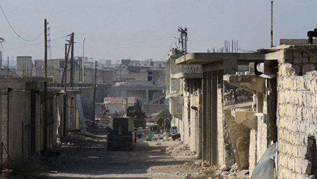 Ситуация в восточном Алеппо