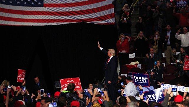 Опрос: Рейтинг одобрения деятельности Трампа начал расти