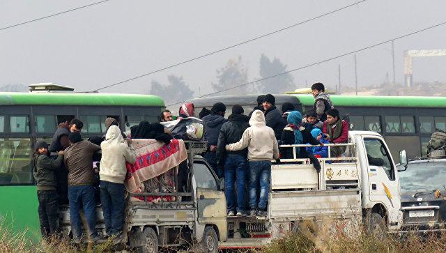 Эвакуация изАлеппо остановлена после обстрела состороны боевиков