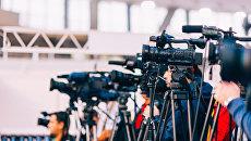 Телевизионные камеры. Архивное фото