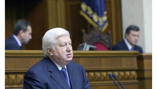 Генеральный прокурор Украины Виктор Пшонка. Архив