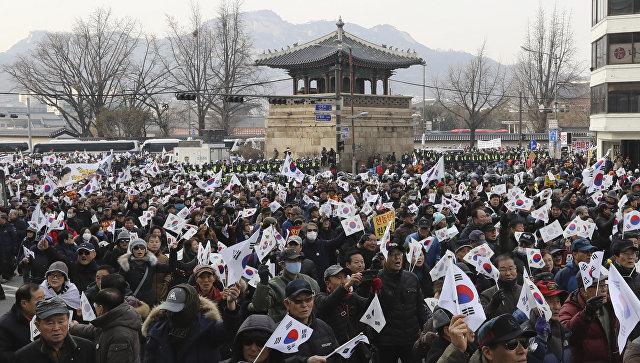 Юристы президента Южной Кореи считают импичмент преступным