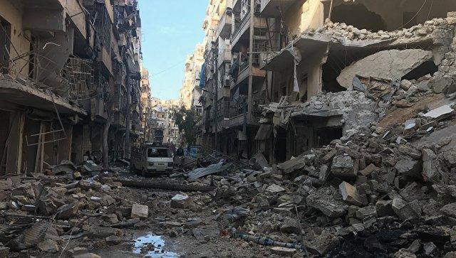 В освобожденных районах восточного Алеппо. Архивное фото