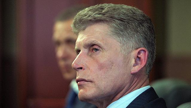 И. о. губернатора Сахалина Олег Кожемяко. Архивное фото