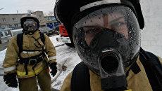 Курсанты дальневосточной пожарно-спасательной Академии МЧС России во Владивостоке