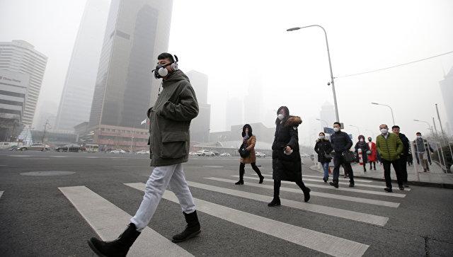 Ученые назвали настоящие причины смога встолице Китая