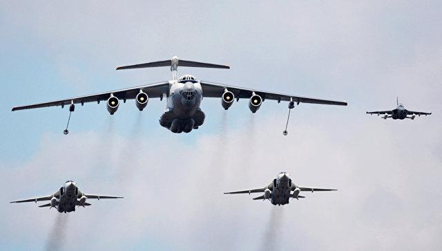 Самолет-заправщик Ил-78. Архивное фото